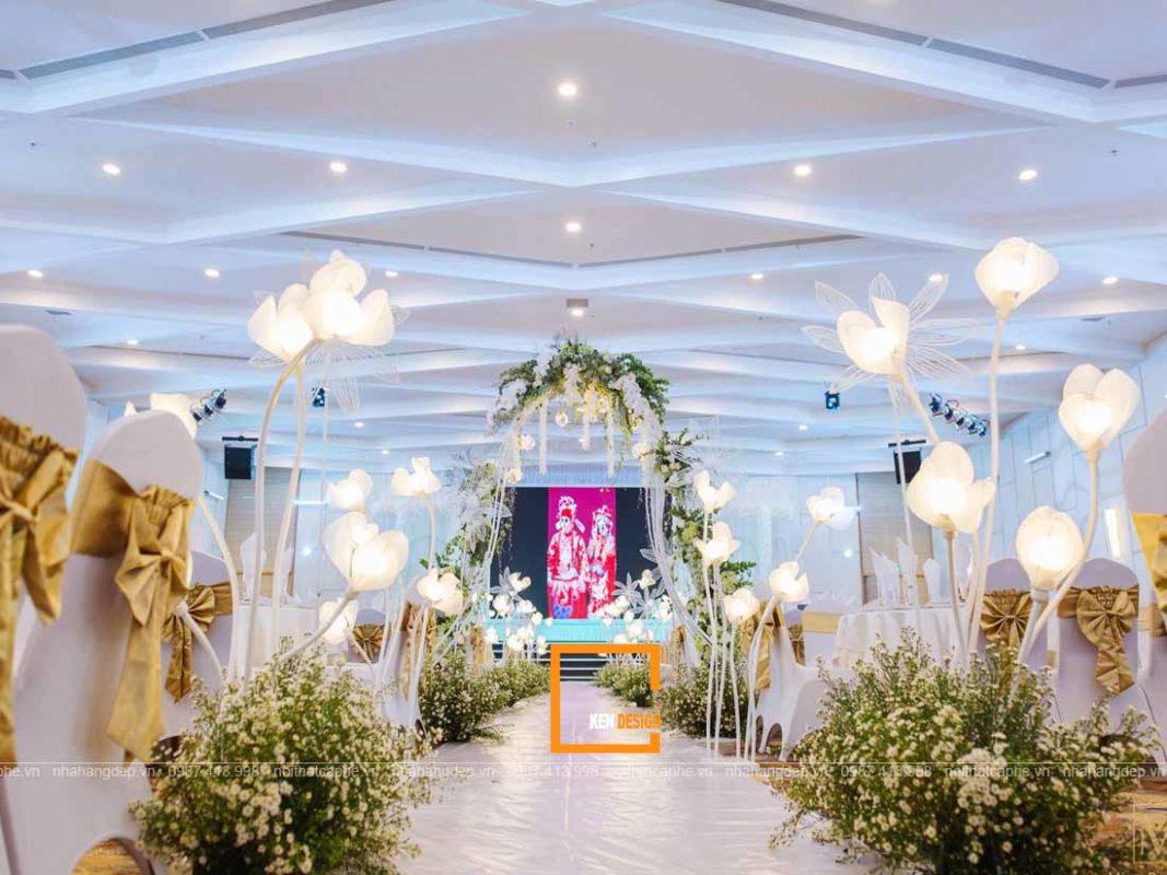tip thiet ke nha hang tiec cuoi quyen ru khach hang 3 1067x800 - Tip thiết kế nhà hàng tiệc cưới quyến rũ khách hàng