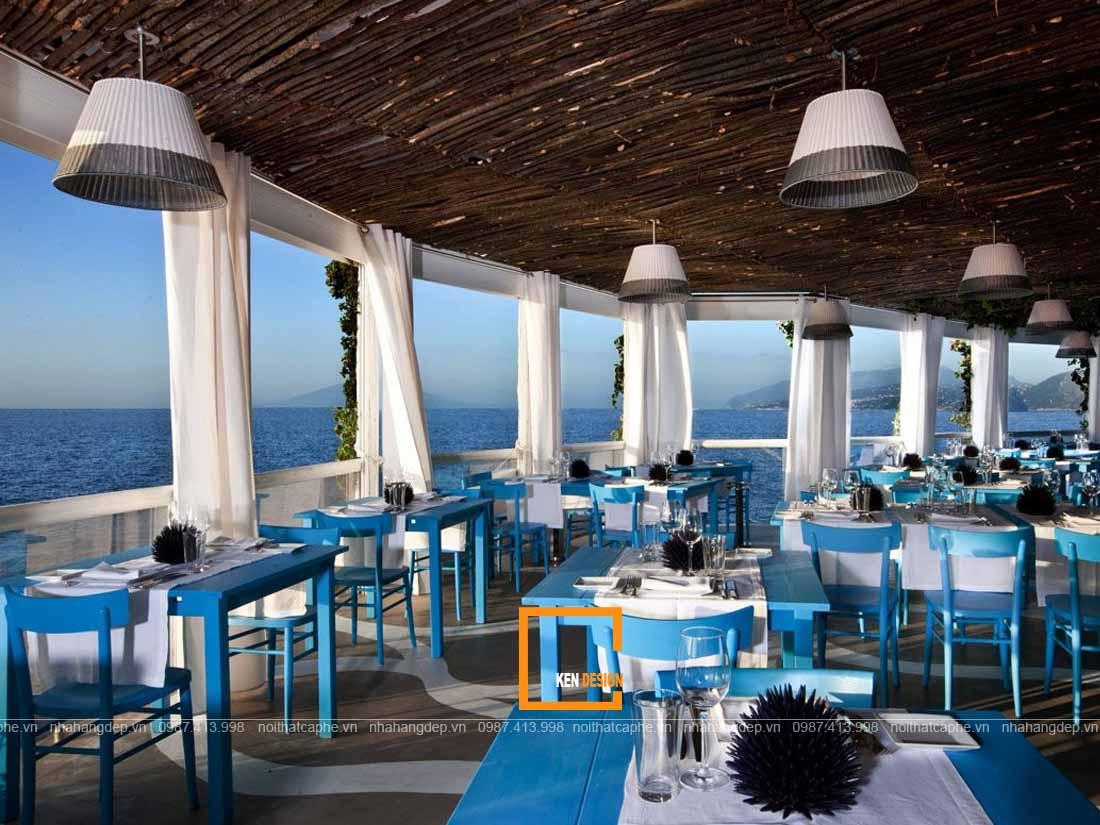 Ý tưởng thiết kế nhà hàng trên bờ biển
