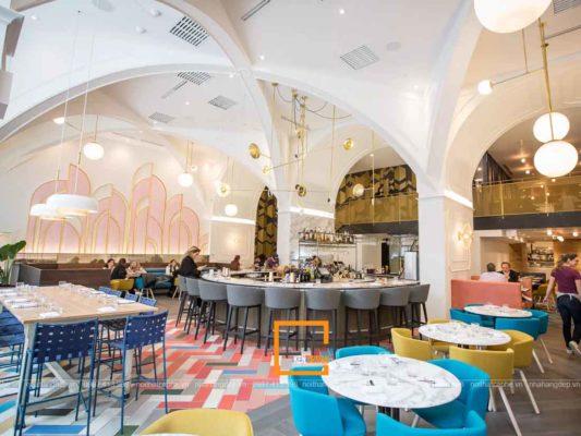 3 phong cach thiet ke nha hang hot nhat hien nay 1 533x400 - 3 phong cách thiết kế nhà hàng hot nhất hiện nay