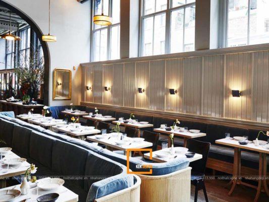 an tuong voi thiet ke nha hang phong cach hien dai 4 533x400 - Ấn tượng với thiết kế nhà hàng phong cách hiện đại