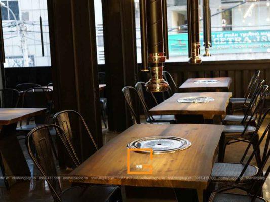 chi ban cach thi cong noi that nha hang chuan phong cach 4 533x400 - Chỉ bạn cách thi công nội thất nhà hàng chuẩn phong cách