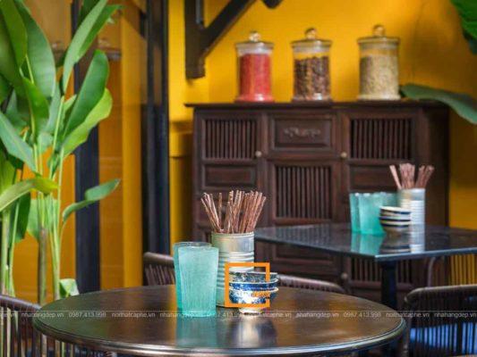 chia se kinh nghiem thi cong nha hang truyen thong 2 3 533x400 - Chia sẻ kinh nghiệm thi công nhà hàng truyền thống