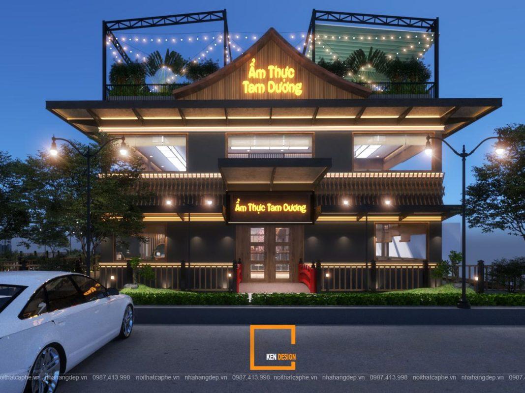 d85fd9d95ab6a3e8faa7 1067x800 - Ẩm thực Tam Dương - ý tưởng thiết kế nhà hàng phong cách Nhật Bản độc đáo