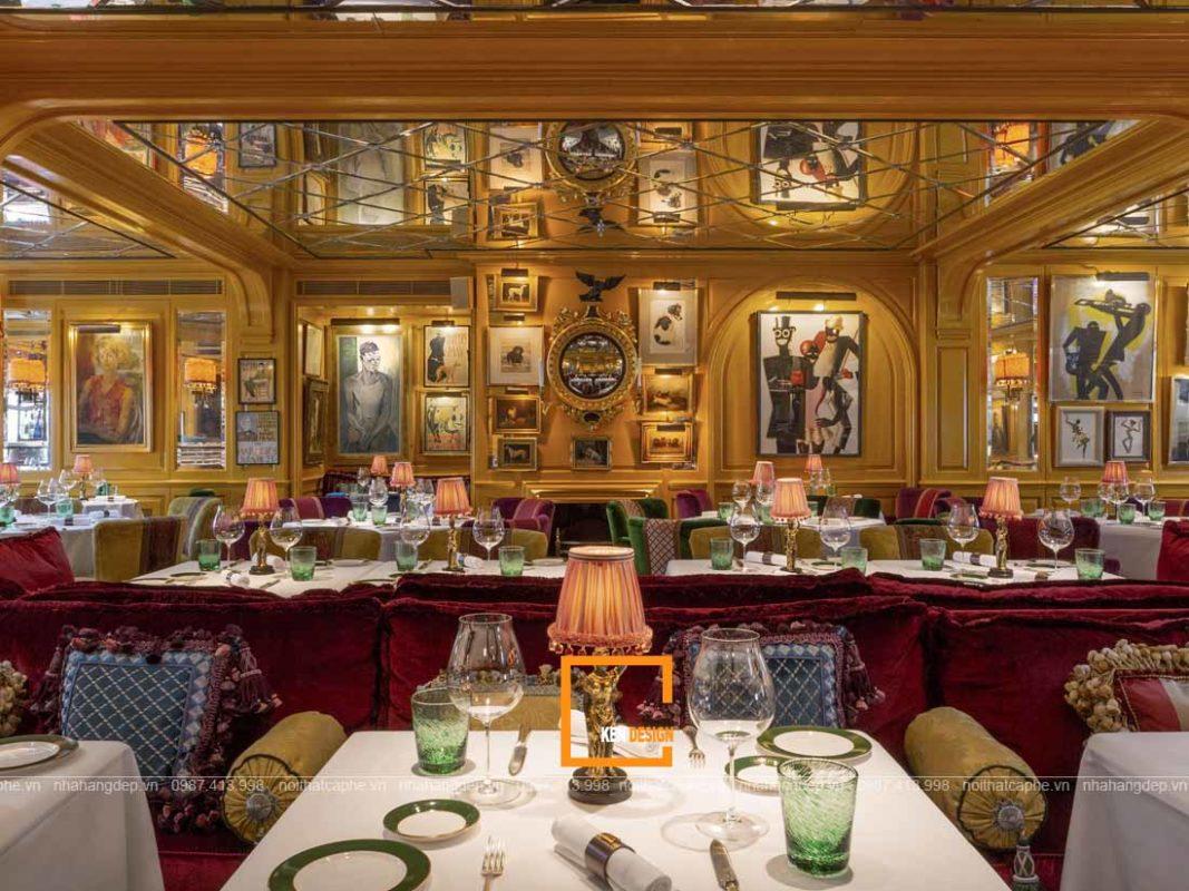 de thiet ke nha hang phong cach co dien tro nen cuon hut 1 1067x800 - Để thiết kế nhà hàng phong cách cổ điển trở nên cuốn hút