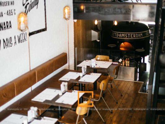 goi y phong cach thiet ke nha hang an nhanh an tuong 4 533x400 - Gợi ý phong cách thiết kế nhà hàng ăn nhanh ấn tượng
