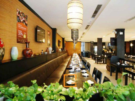 kinh nghiem thi cong chuoi nha hang tai ha noi 2 533x400 - Kinh nghiệm thi công chuỗi nhà hàng tại Hà Nội