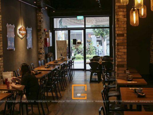 len y tuong thiet ke nha hang my cay han quoc cuon hut 4 533x400 - Lên ý tưởng thiết kế nhà hàng mỳ cay Hàn Quốc cuốn hút