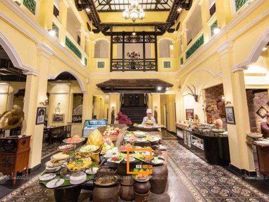 thiet ke nha hang buffet lau 1 2 533x400 - Tư vấn thiết kế nhà hàng buffet lẩu nướng đẹp, hiện đại