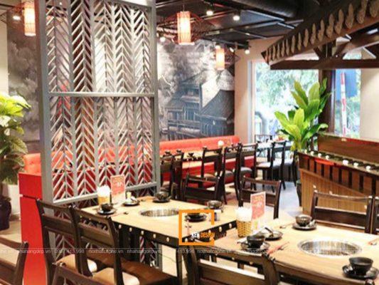 thiet ke nha hang buffet lau 2 533x400 - Làm thế nào để thiết kế nhà hàng buffet lẩu?