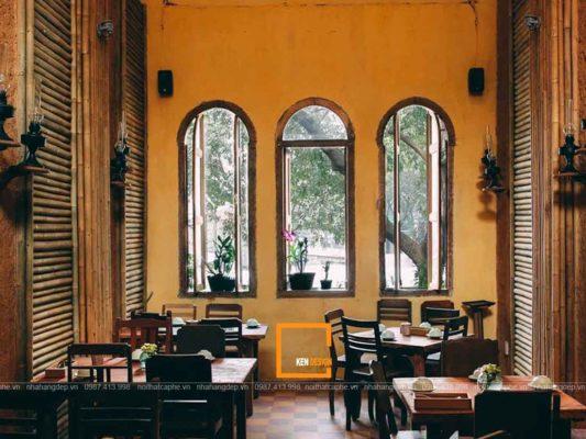 thiet ke nha hang dong que chuan phong cach xua 2 533x400 - Thiết kế nhà hàng đồng quê chuẩn phong cách xưa