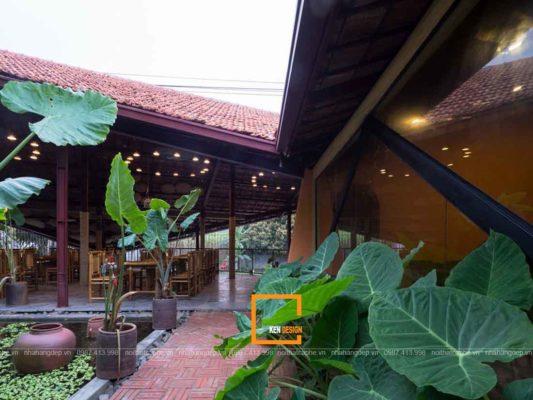 thiet ke nha hang dong que phong cach bac bo 3 533x400 - Thiết kế nhà hàng đồng quê phong cách Bắc Bộ