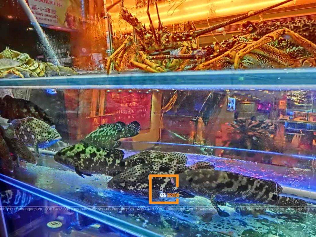 thiet ke nha hang hai san cung cap thuc pham tuoi song 1 1067x800 - Thiết kế nhà hàng hải sản cung cấp thực phẩm tươi sống