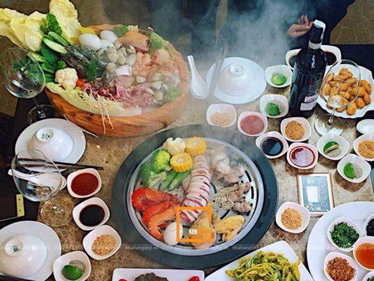 thiet ke nha hang lau hoi nuoc 2 533x400 - Hướng dẫn thiết kế nhà hàng lẩu hơi đẹp, ấn tượng