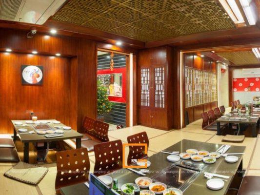 thiet ke nha hang lau nuong khong khoi 2 1 533x400 - Làm thế nào để thiết kế nhà hàng lẩu nướng không khói đẹp?