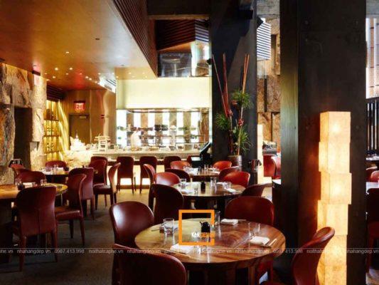 thiet ke nha hang nhat ban phong cach hien dai an tuong 1 533x400 - Thiết kế nhà hàng Nhật Bản phong cách hiện đại ấn tượng