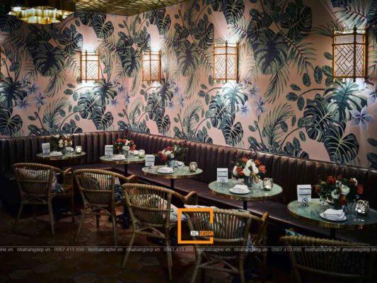 thiet ke nha hang phong cach nhiet doi thanh binh trong lanh 1 533x400 - Thiết kế nhà hàng phong cách nhiệt đới thanh bình trong lành