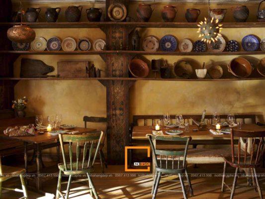 thiet ke nha hang phong cach rustic ve dep cua su moc mac 1 533x400 - Thiết kế nhà hàng phong cách Rustic - vẻ đẹp của sự mộc mạc
