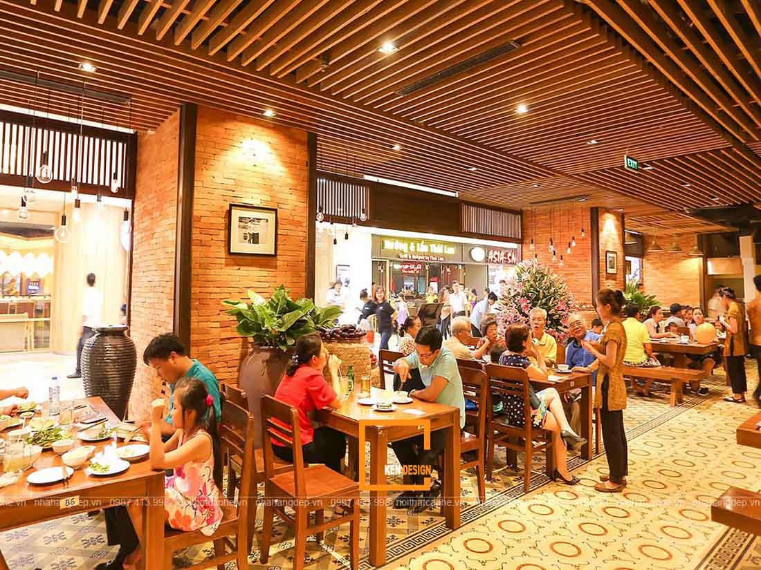 Lựa chọn vị trí thiết kế nhà hàng tại Hồ Chí Minh