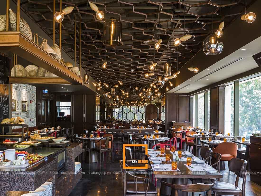 Thiết kế nhà hàng tại Hồ Chí Minh độc đáo