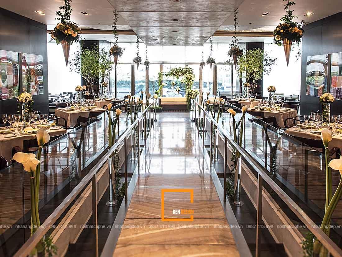 Hợp tác thiết kế nhà hàng tiệc cưới cùng Ken Design