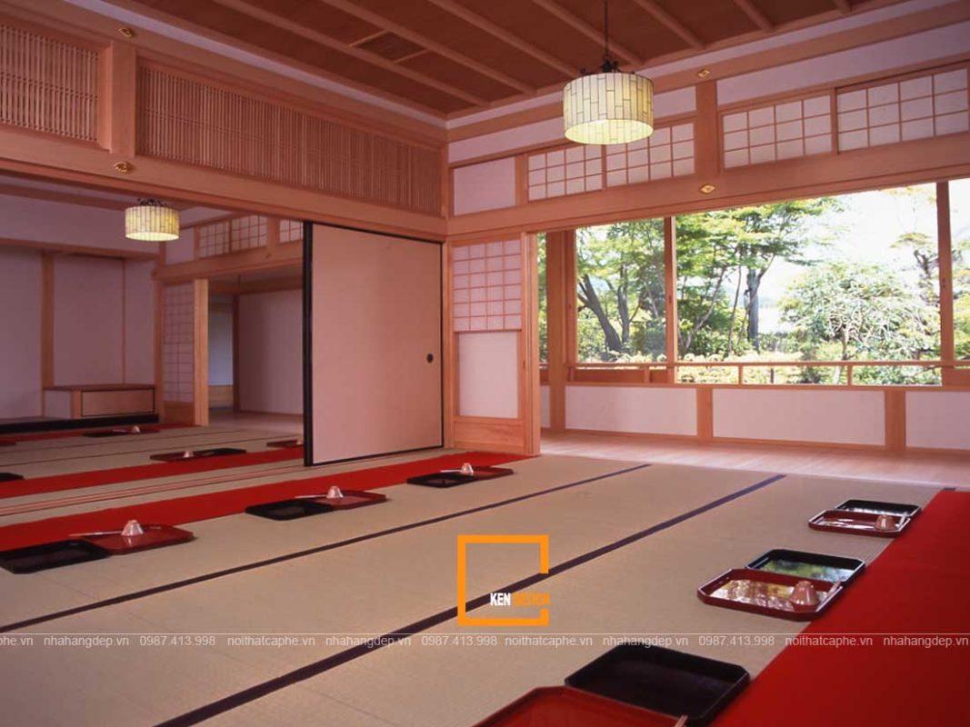 thiet ke noi that nha hang theo phong cach thien nhat ban 2 1067x800 - Thiết kế nội thất nhà hàng theo phong cách thiền Nhật Bản