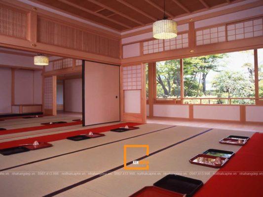 thiet ke noi that nha hang theo phong cach thien nhat ban 2 533x400 - Thiết kế nội thất nhà hàng theo phong cách thiền Nhật Bản