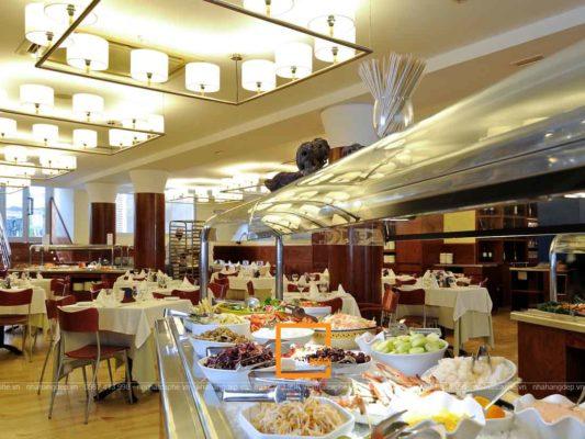 tieu chuan thiet ke nha hang buffet danh den chu dau tu 1 533x400 - Tiêu chuẩn thiết kế nhà hàng buffet dành đến chủ đầu tư