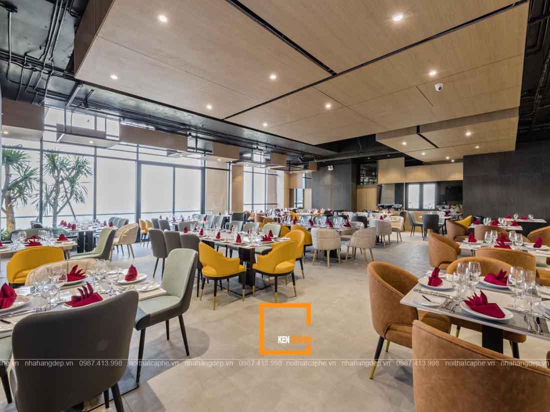 Thiết kế nhà hàng buffet nội thất đạt chuẩn