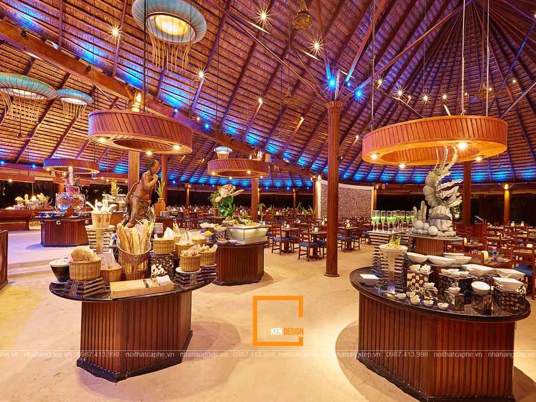 Kiến trúc thiết kế nhà hàng buffet độc đáo