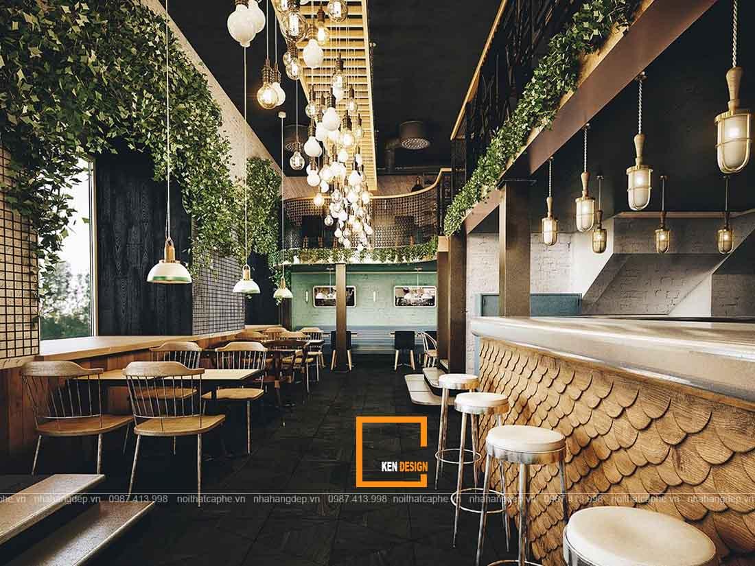 Tư vấn thiết kế thi công nhà hàng trọn gói