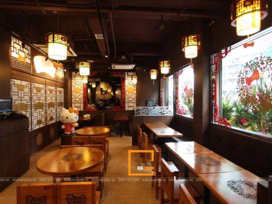 y tuong thiet ke nha hang nho xinh thu hut 3 533x400 - Ý tưởng thiết kế nhà hàng nhỏ xinh thu hút
