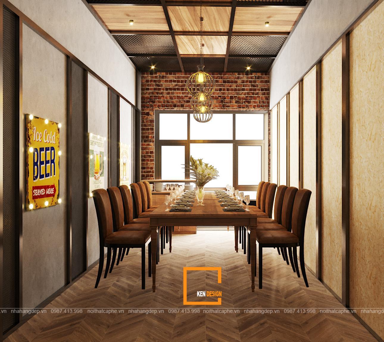 0e50374be2fa04a45deb 1 1 1 - Thiết kế nhà hàng Sapphire - sự kết hợp hoàn hảo giữa phong cách Industrial và Rustic