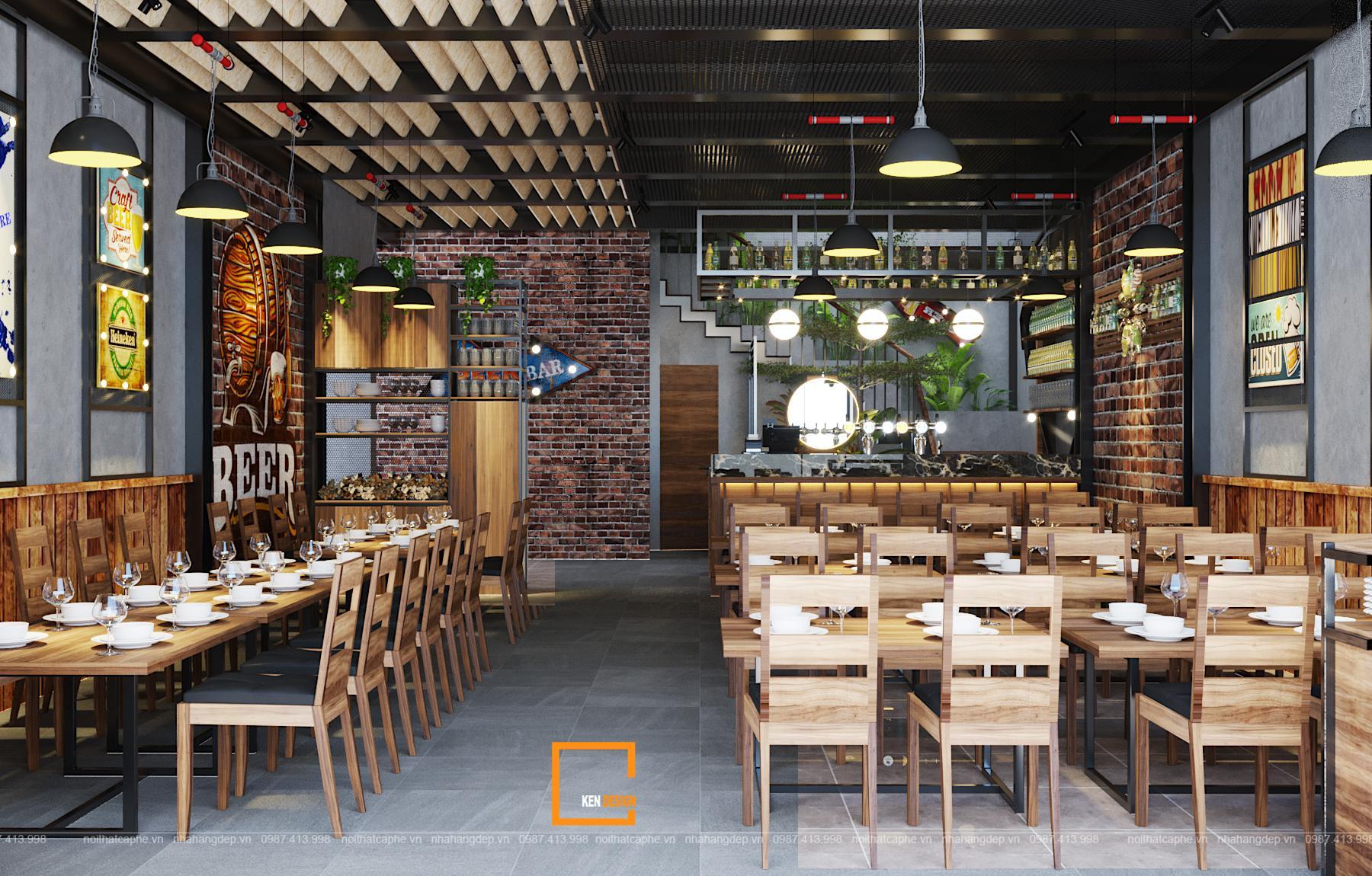 59cc65c81072f62caf63 1 1 1 - Thiết kế nhà hàng Sapphire - sự kết hợp hoàn hảo giữa phong cách Industrial và Rustic
