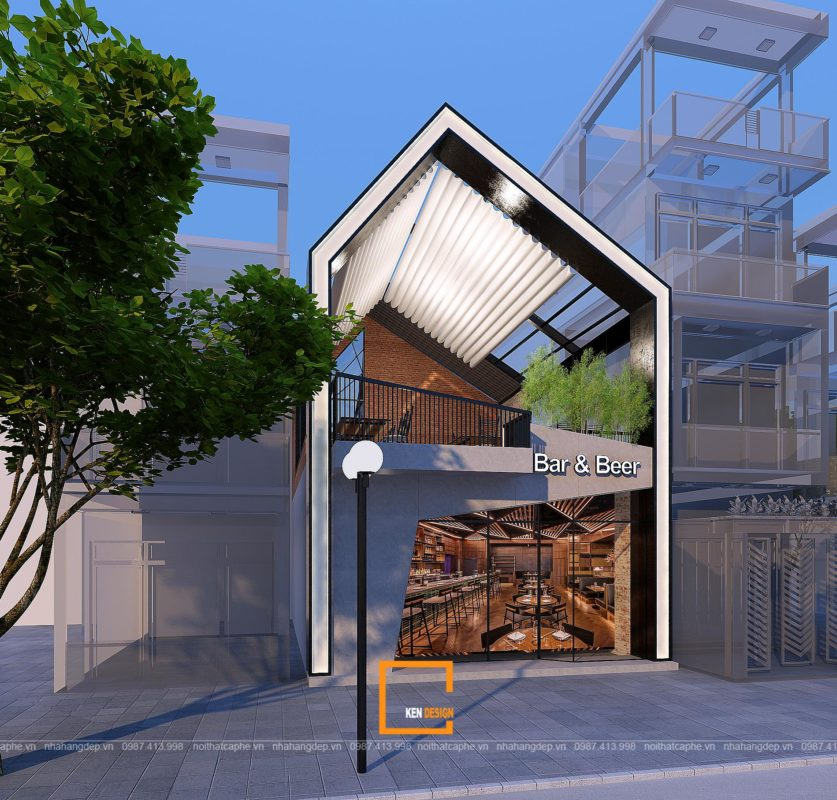 59d4229768228f7cd633 837x800 - Thiết kế nhà hàng Sapphire - sự kết hợp hoàn hảo giữa phong cách Industrial và Rustic