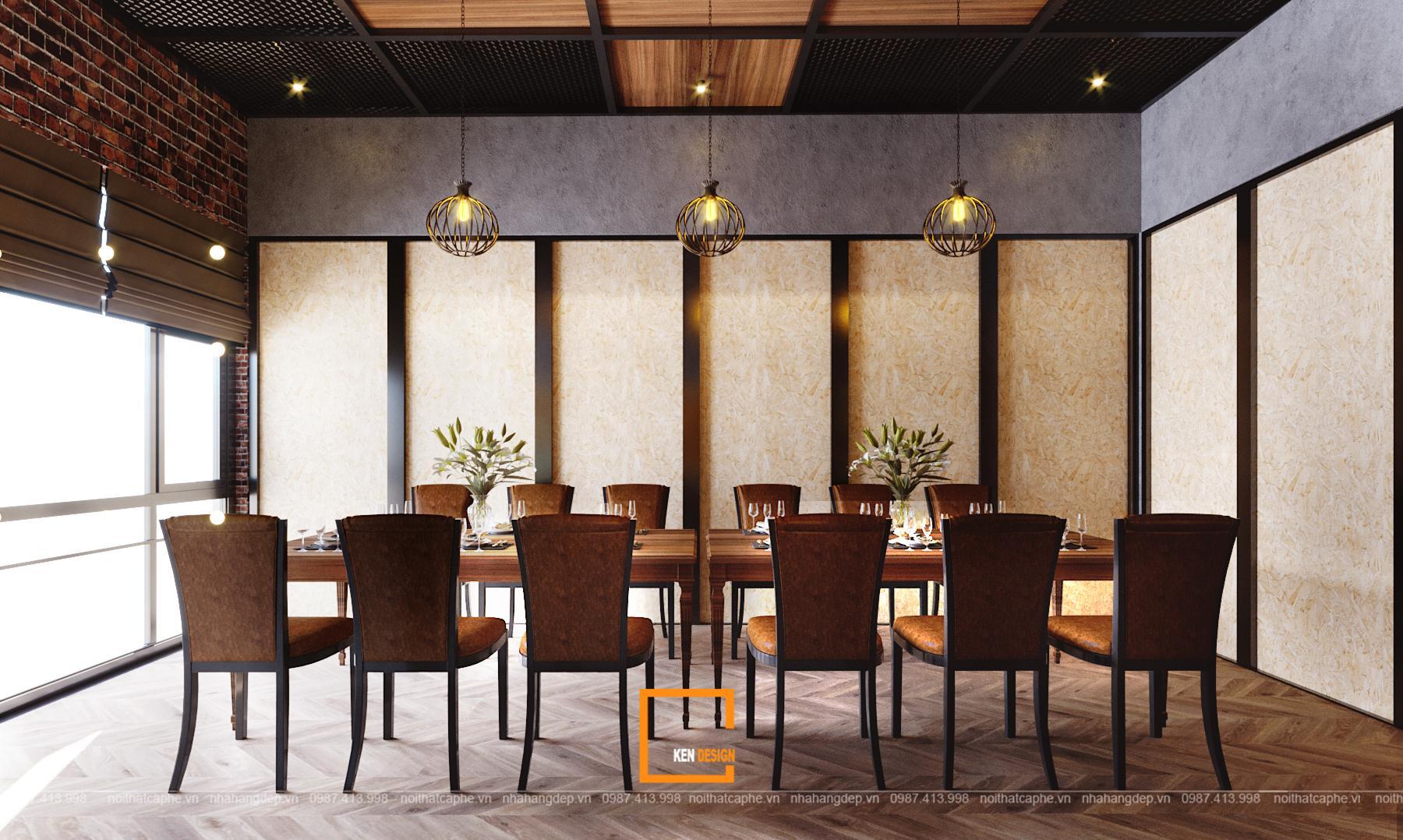7c3b80da566bb035e97a 1 1 1 - Thiết kế nhà hàng Sapphire - sự kết hợp hoàn hảo giữa phong cách Industrial và Rustic