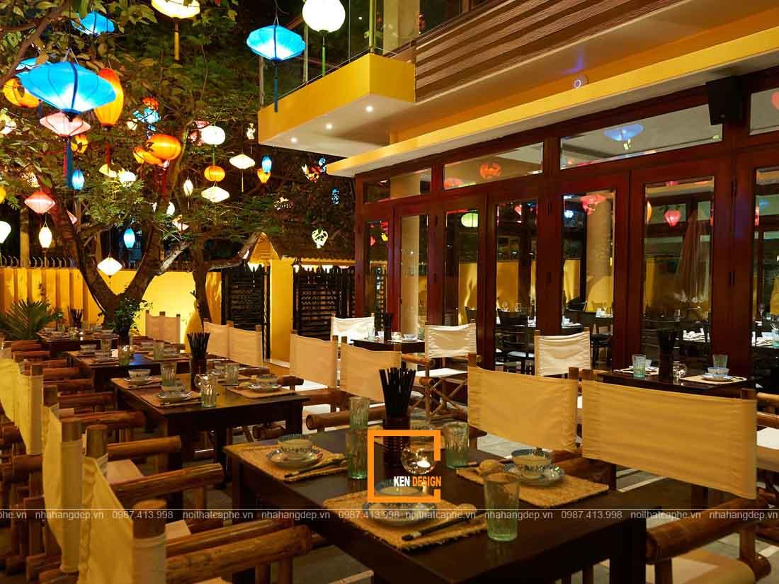 Tạo sự ấn tượng cho thiết kế nhà hàng đẹp tại Đà Nẵng