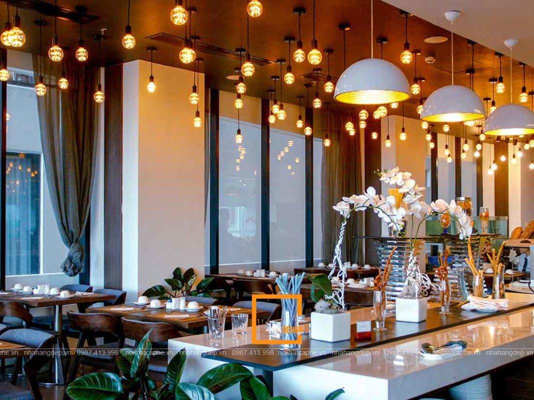 bi quyet thiet ke nha hang dep tai da nang 4 1067x800 - Bí quyết thiết kế nhà hàng đẹp tại Đà Nẵng