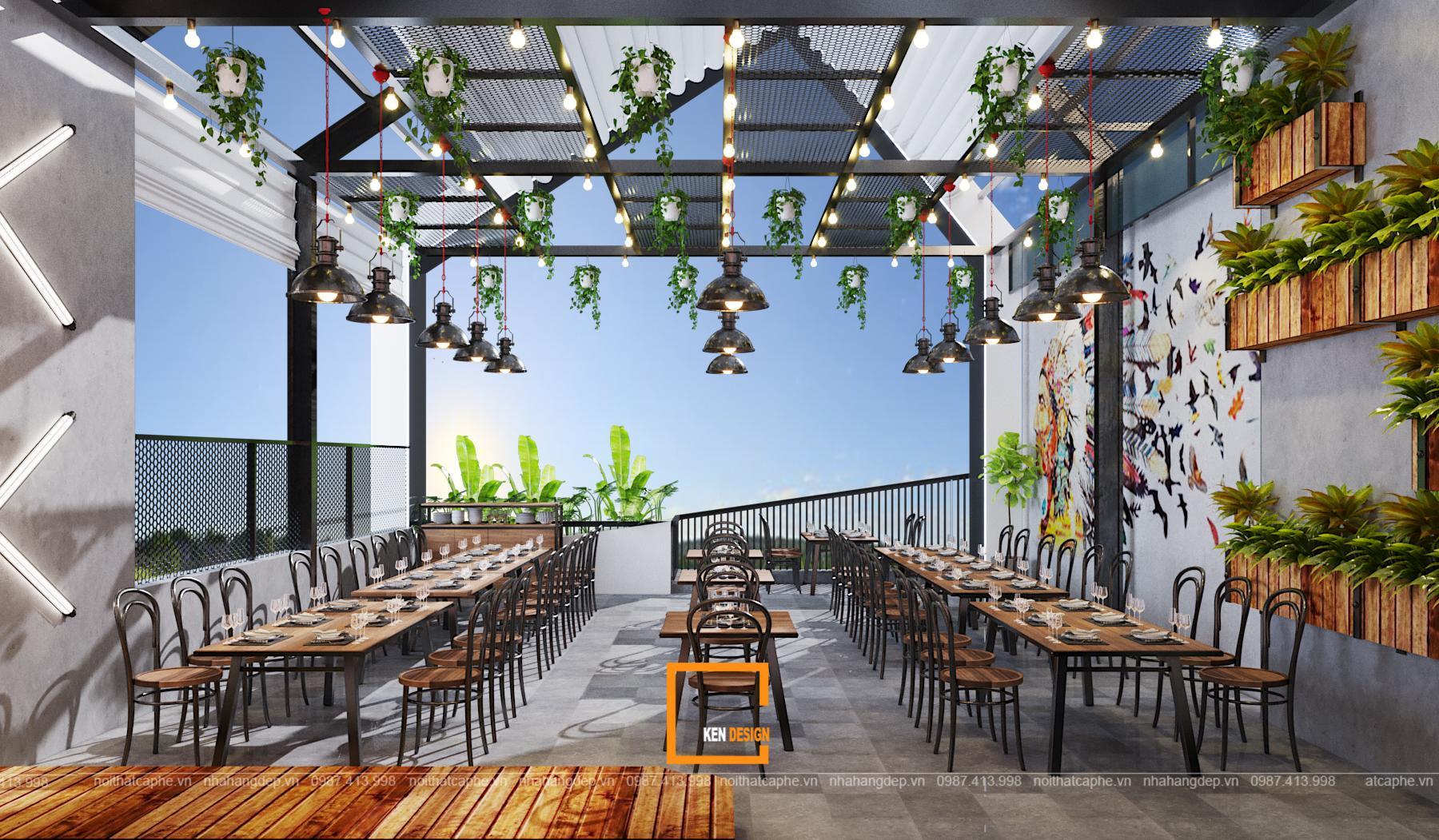 db59a06c75dd9383cacc 1 1 1 - Thiết kế nhà hàng Sapphire - sự kết hợp hoàn hảo giữa phong cách Industrial và Rustic