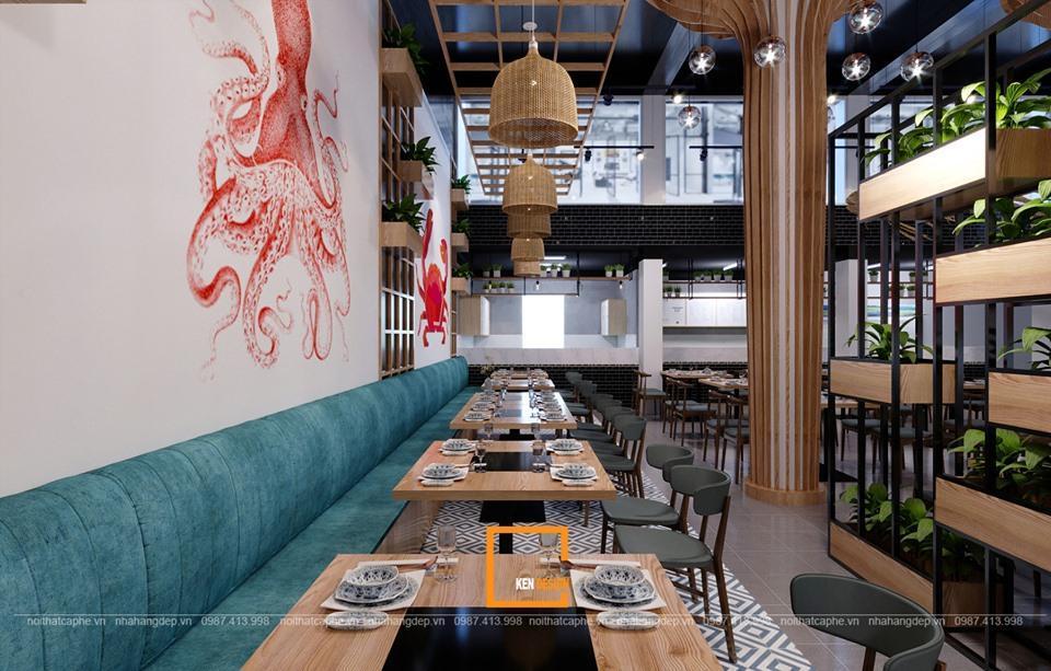 Hợp tác thiết kế nhà hàng lẩu