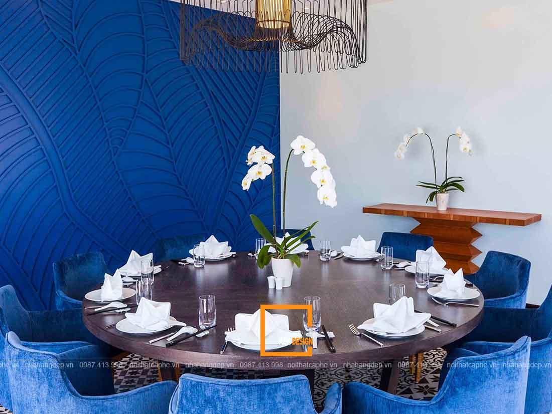 Tạo không gian riêng tư trong thiết kế nhà hàng tại Đà Nẵng