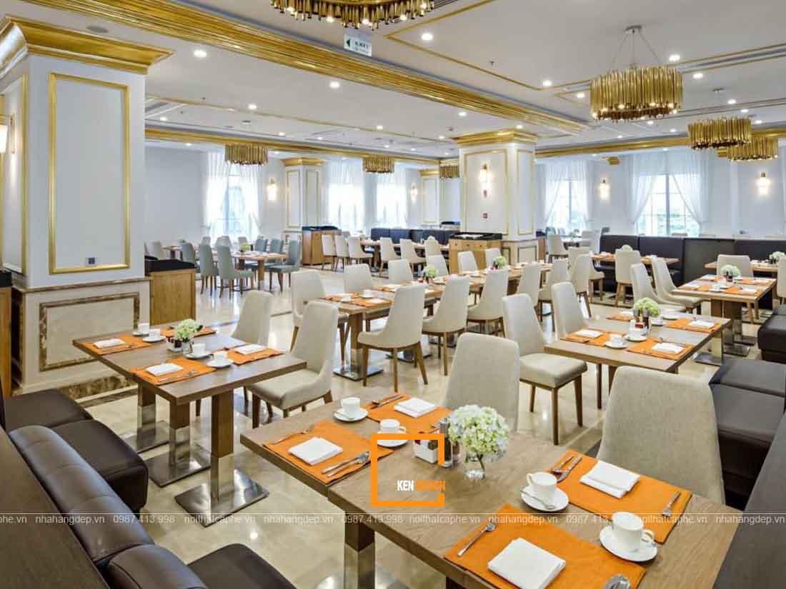 Thi công nhà hàng tại Hồ Chí Minh đúng bản vẽ