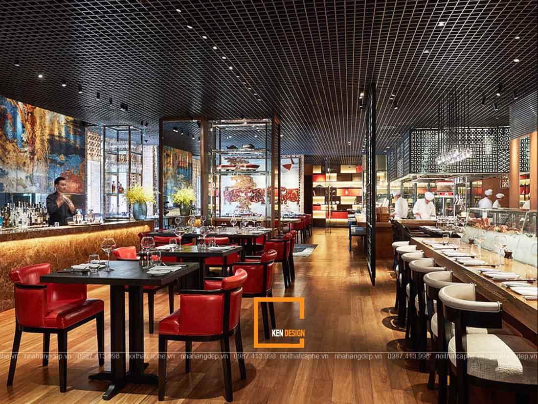 Thi công nhà hàng tại Hồ Chí Minh chuẩn công năng thẩm mỹ