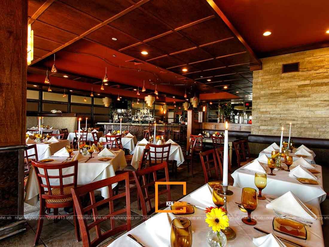 Tại sao nên hợp tác cùng công ty chuyên thiết kế nhà hàng?