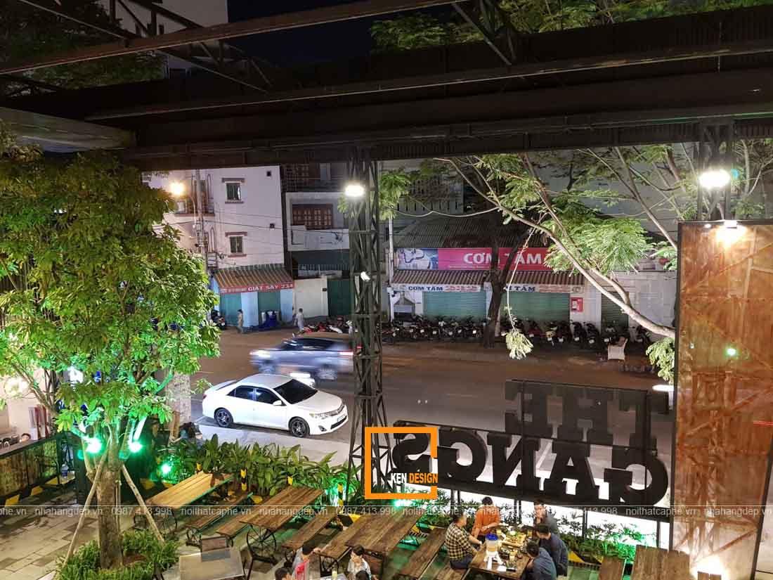 thi cong nha hang the gangs 10 1 1 - Thi công nhà hàng The Gangs