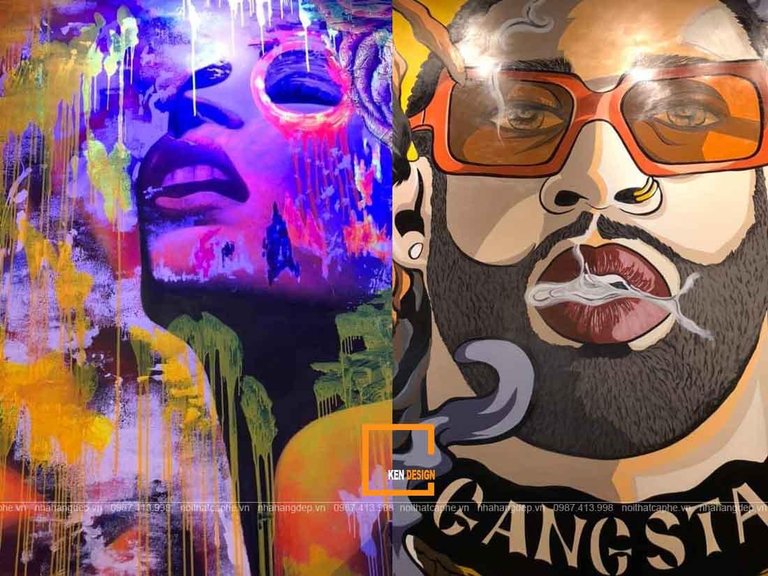 thi cong nha hang the gangs 14 1 1 - Thi công nhà hàng The Gangs