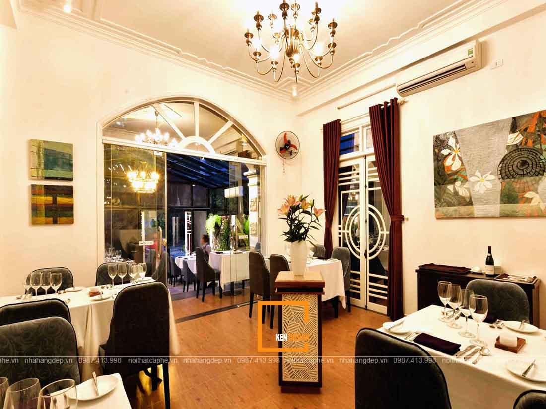 Thi công nội thất nhà hàng tại Hồ Chí Minh trọn gói