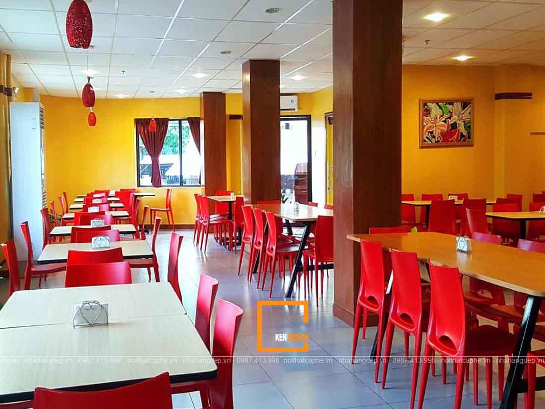 Thiết kế nhà hàng buffet bình dân tại Đà Nẵng