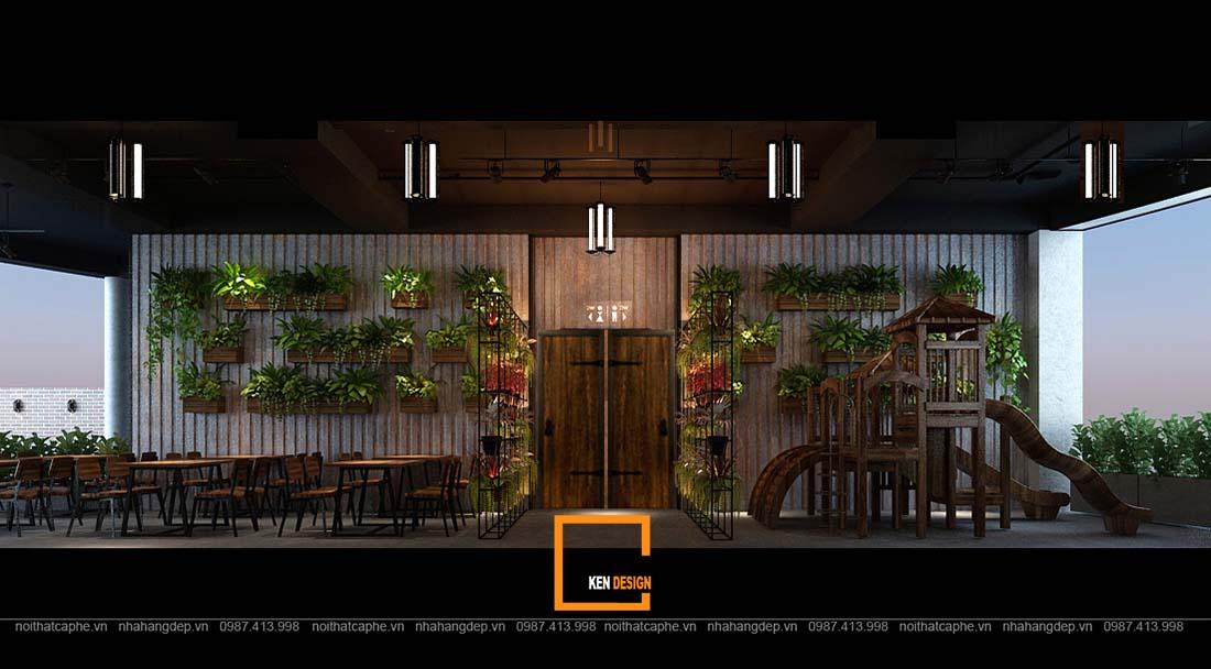 thiet ke nha hang gangs 13 1 - Thiết kế nhà hàng The Gangs - Không gian sáng tạo tuyệt vời