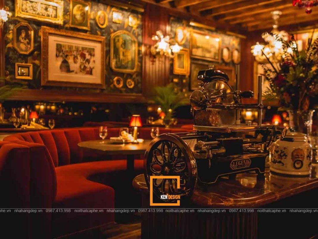 thiet ke nha hang phong cach co dien tai ho chi minh 1 1067x800 - Thiết kế nhà hàng phong cách cổ điển tại Hồ Chí Minh