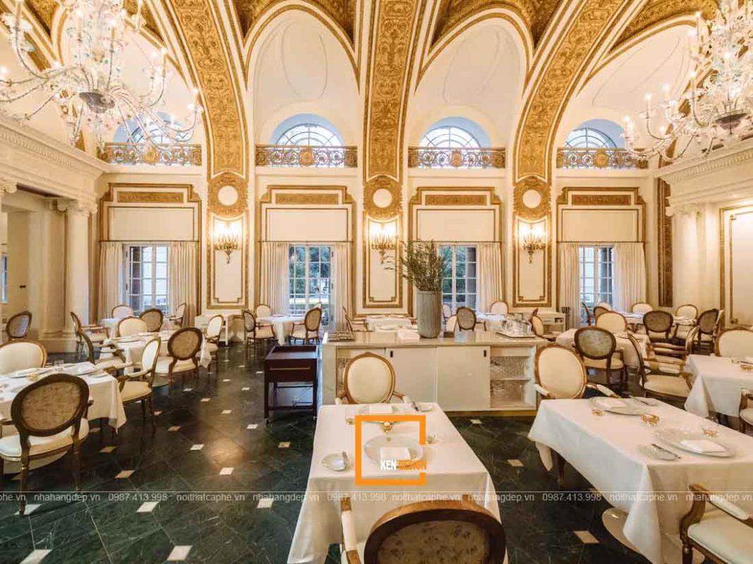 thiet ke nha hang phong cach co dien tai ho chi minh 3 1067x800 - Thiết kế nhà hàng phong cách cổ điển tại Hồ Chí Minh